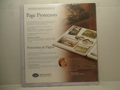 Creative Memories Collection Page Protectors 12 x 12, New! Bonus Included