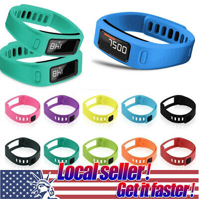 US Replacement Silicone Wrist Band Watch Strap Bracelet For Garmin Vivofit 1/2 g