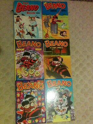Collection, job lot, vintage Beano Annuals Collectable, 1980/2000's