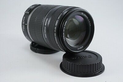 **GOOD** Canon EF-S 55-250mm f4-5.6 IS Telephoto Zoom Lens for EOS DSLRs
