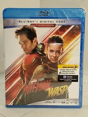 Ant-Man and the Wasp (Blu-Ray + Digital Code, 2018) Sealed