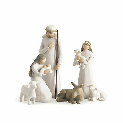 DEMDACO Willow Tree 26005 Nativity Hand Painted Sculpted Figures