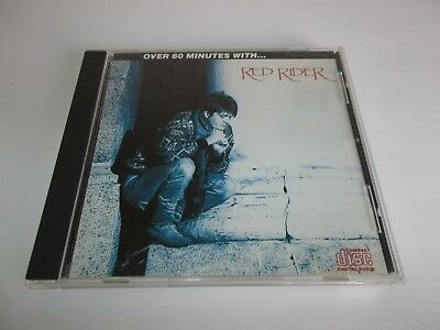 Red Rider Over 60 Minutes With... CD 1987 Capitol EMI Made In Canada RARE OOP