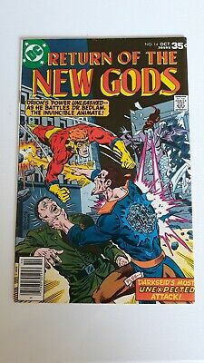 Return Of The New Gods 14 kirby Orion movie soon check out my other bronze age !