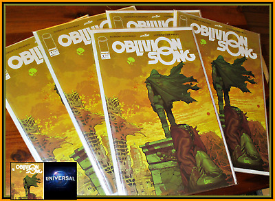 Oblivion Song #1 2018 1St Print Lot Of 5 Copies Optioned For Movie Image Nm/Nm+