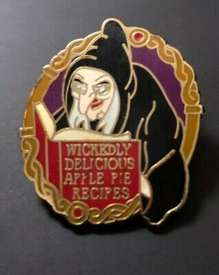 Disney Disneyland Pin Witch Evil Spells Old Hag Snow White Gift With Purchase