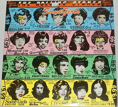 The Rolling Stones Some Girls 1978 Rolling Stones Record Vinyl Lp