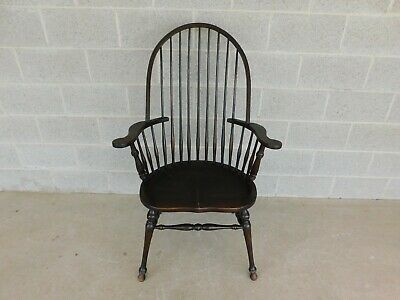 Vintage Hoop Back Windsor Arm Chair