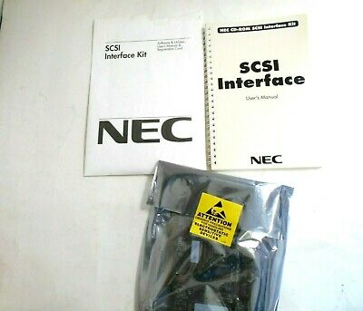 NEC CD-ROM  16-Bit at SCSI Interface Kit for Computers with an IBM AT Bus