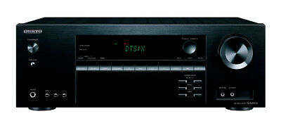 Onkyo TX-NR474Black 5.1 Channel A/V Receiver, Supports Atmos, 4K/60 Hz, HDR10