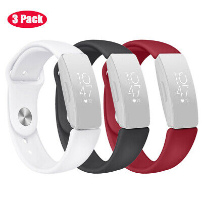 Sports Soft Silicone Bracelet Strap Wrist Band For Fitbit Inspire/Inspire HR UK