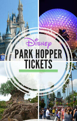 Disney World Park Hopper Tickets!  Four total.  Worth up to $933!