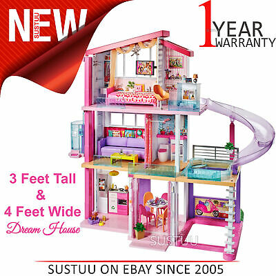 Barbie Dream House│Baby's Lagre Home Playset│Includes Furniture,Household Items