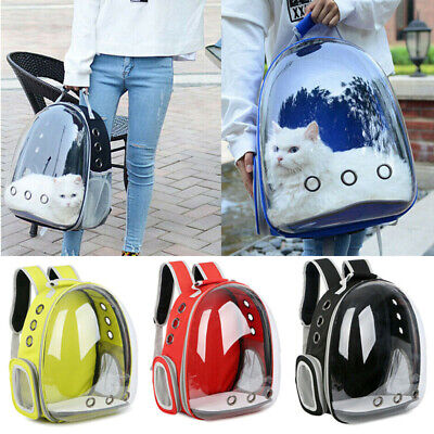 Pet Dog Cat Astronaut Backpack Space Capsule Breathable Outdoor Carrier Bag CA