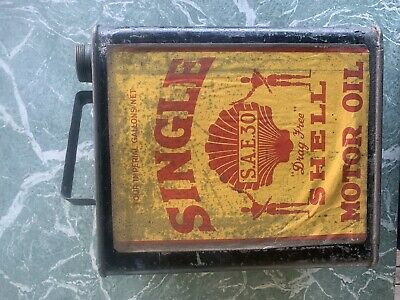 shell oil tin
