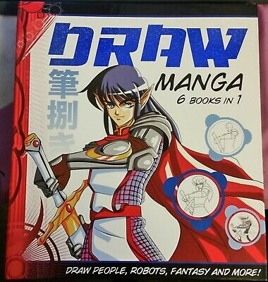 Draw Manga 6 Books in 1