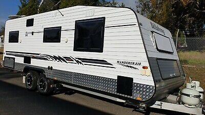 2016 Billabong Caravan 4WD Shower Toilet Good Repairer Sleeps 3 *WATCH VIDEO*