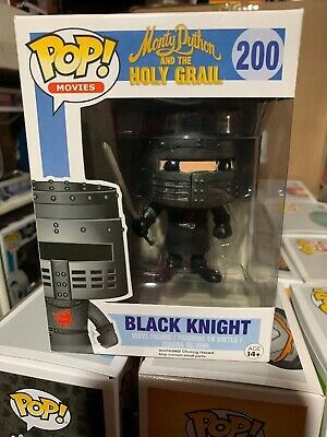 Funko POP! Vinyl Black Knight #200 Monty Python and the Holy Grail VAULTED! NEW!