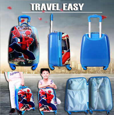 """2018  kids Cabin Suitcase Travel Trolley  Hard 18 """" ABS 4 Wheels Luggage Bag"""