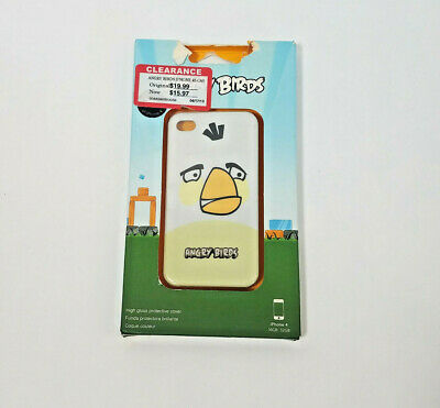 Angry Birds Cell Phone Cover  iPhone 4 and 4S White Bomber