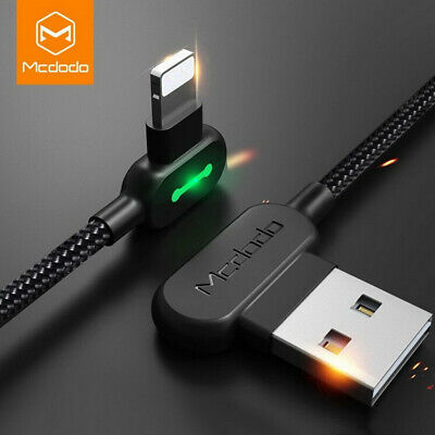 NEW MCDODO USB Cable for iPhone LED Fast Charging Data Cord for iPhone XS MA
