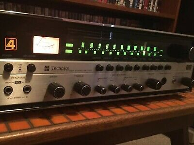 Vintage Technics Quad Receiver