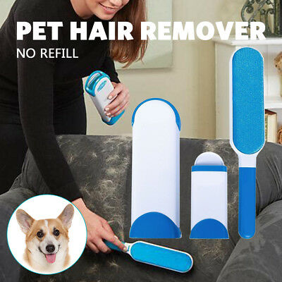 Pet Hair Lint Remover Clear Clothes Fabric Brush Fur Wizard For Pets Dog Clothes