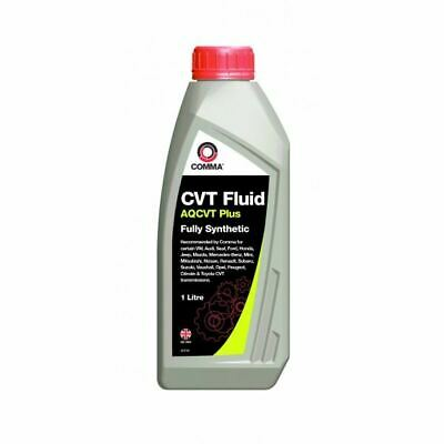 NEW COMMA TRANSMISSION Oil Aqcvt Plus Fluid 1 Litre Aqcvtp1L