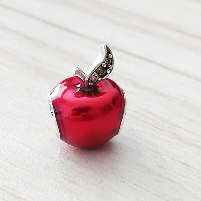 009afa7ad Authentic Pandora Sterling Silver Disney Snow White's Apple Charm 791572EN73