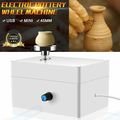 Mini Electric Pottery Wheel Ceramic Work Clay Art Craft Production Machine 45CM