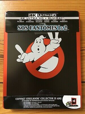 SOS Fantômes 1 & 2 (Ghostbusters) steelbook blu-ray 4K collector 35 ans
