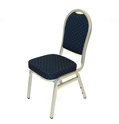 CY-07 Blue and Silver Banquet Chairs, Banqueting Chairs, Wedding Chairs