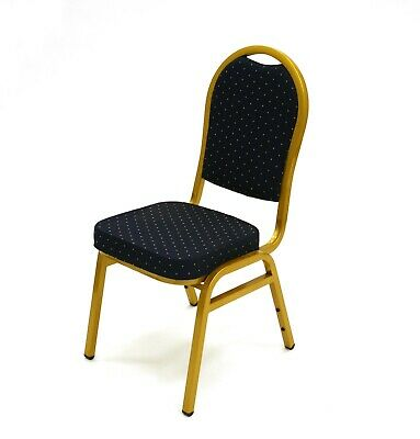 CY-16 Blue and Gold Banquet Chairs, Banqueting Chairs, Wedding Chairs
