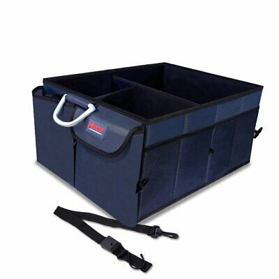 MAXTUF Car Trunk Boot Organizer, Heavy Duty 1680D Collapsible Auto Cargo Storage