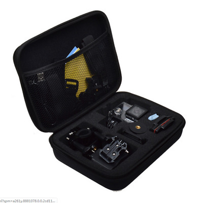 Carry Case For GOPRO Hero HD 1/2/3/3+/4 Action Cam Go Pro HD Mini Camera Bag Ues