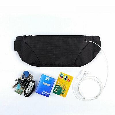 Pro Running Belt, Gym Waist Pouch Runners Bum Bag & Jogging Phone Holder