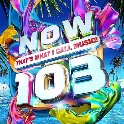 NOW THATS WHAT I CALL MUSIC 103 (Various Artists) 2 CD SET (19th July 2019)