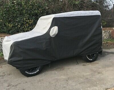 Landrover Defender 90 Fully Custom Made and Tailored Outdoor Car Cover