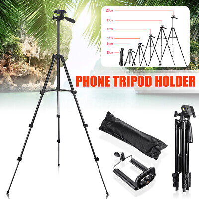 Stretchable Tripod Stand Mount Holder Kit For Mobile Phone Camera iPhone Samsung