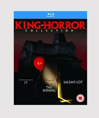 King of Horror Collection Blu-ray Horror/Psychological Thriller/Mystery Movie