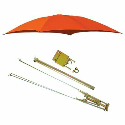 "ROPS Tractor Umbrella with Frame & Mounting Bracket 54"" - Orange"