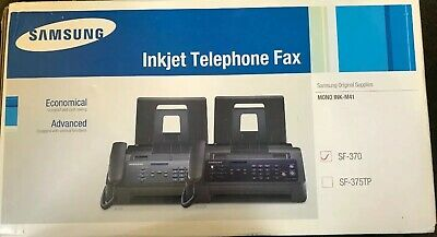 Samsung Fax Machine SF370 New Sealed From New