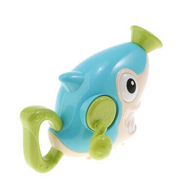 Funny Baby Shower Bath Toys Shark Sprinkler Water Squirt Pump Swimming Accs