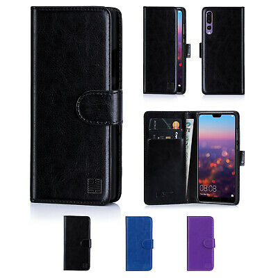 Book Wallet PU Leather Case Cover For Huawei P smart P30 P20 P9 Mate 20 Honor 7