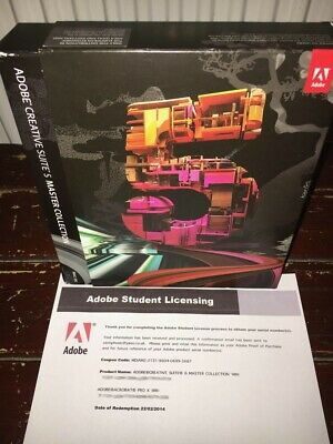 ADOBE Creative Suite CS5 MASTER COLLECTION for Mac - With Photoshop etc