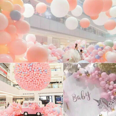 100x10'' Large Latex Pearlised Birthday Wedding Party Baloons Ballons Balloons