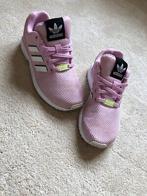 adidas zx flux pink size 4