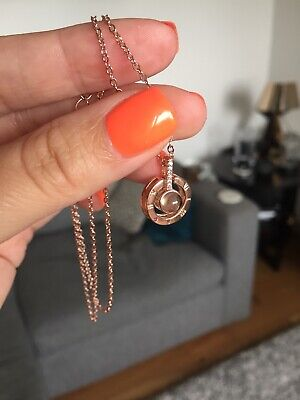 Pendant Necklace - Rose Gold Colour