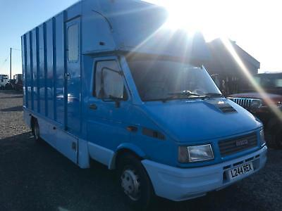 1994 Iveco Horsebox Lorry Truck Coach Built 6 Ton Twin Wheel Compact  Px