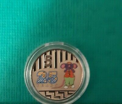 2017 25 Years Bananas In Pyjamas Classic 5 Cent Unc Coin In Brand New Capsule